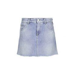 Spódnice krótkie Replay  SELO. Niebieskie minispódniczki Replay. Za 351,20 zł.