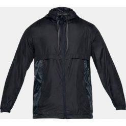 Odzież sportowa męska: Under Armour Kurtka męska Sportstyle Windbreaker czarna r. XL (1306482-001)