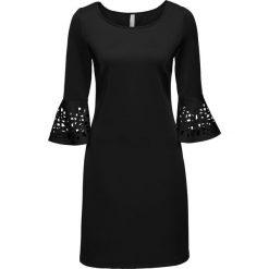 Sukienki hiszpanki: Sukienka z wycięciami bonprix czarny