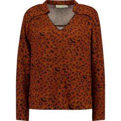 Bluzki asymetryczne: See u Soon LEOPARD  Bluzka brown