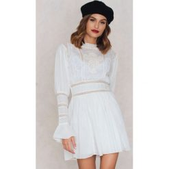 Sukienki: Free People Sukienka Mini Victorian Waisted – White