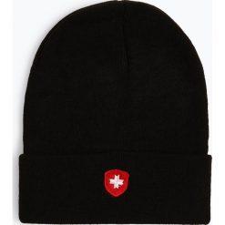Wellensteyn - Czapka męska – Hafenmütze, czarny. Czarne czapki męskie Wellensteyn, z haftami. Za 99,95 zł.