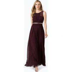 Marie Lund - Damska sukienka wieczorowa, czerwony. Niebieskie sukienki koktajlowe marki Marie Lund, z szyfonu. Za 449,95 zł.