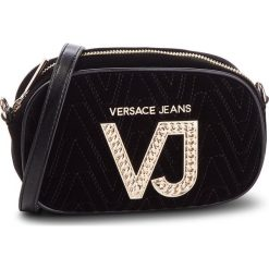 Torebka VERSACE JEANS - E1VSBBI1 70783 899. Czarne listonoszki damskie Versace Jeans, z jeansu. Za 619,00 zł.