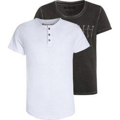 T-shirty chłopięce z nadrukiem: Blue Effect 2 PACK Tshirt z nadrukiem weiß/grau