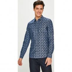Medicine - Koszula Contemporary Classics. Niebieskie koszule męskie na spinki marki bonprix, m, z nadrukiem, z klasycznym kołnierzykiem, z długim rękawem. Za 129,90 zł.