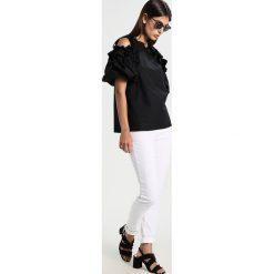 Bluzki asymetryczne: Navy London ELLA Bluzka black