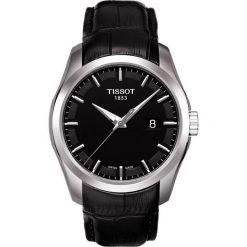 RABAT ZEGAREK TISSOT T - CLASSIC T035.410.16.051.00. Czarne zegarki męskie marki TISSOT, ze stali. W wyprzedaży za 1100,00 zł.