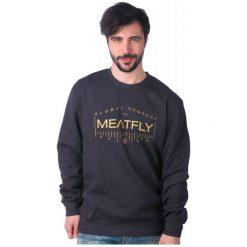 Bejsbolówki męskie: Meatfly Bluza Męska Bevel S Szary