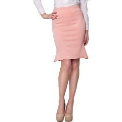 Odzież damska: Spódnica Figl w kolorze brzoskwiniowym