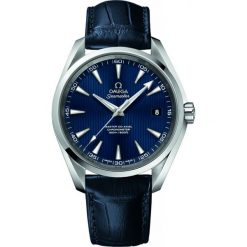 ZEGAREK OMEGA SEAMASTER 231.13.42.21.03.001. Niebieskie zegarki męskie OMEGA, ze stali. Za 20200,00 zł.