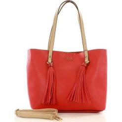 Shopper bag damskie: NOBO Miejski shopper bag czerwony