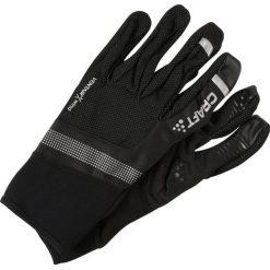Craft SHELTER  Rękawiczki pięciopalcowe black. Czarne rękawiczki damskie Craft, z elastanu. W wyprzedaży za 181,30 zł.
