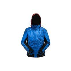 Bluza żeglarska RACE 500 męska. Niebieskie bluzy męskie rozpinane marki QUECHUA, m, z elastanu. Za 379,99 zł.