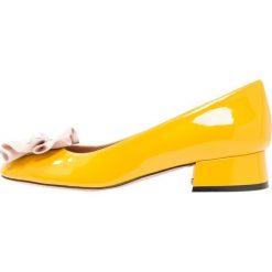 Buty ślubne damskie: Oxitaly PUPA  Czółenka yellow