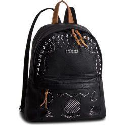 Plecak NOBO - NBAG-F0780-C020 Czarny. Czarne plecaki damskie Nobo, ze skóry ekologicznej, klasyczne. W wyprzedaży za 159,00 zł.