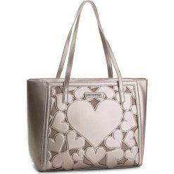 Torebka LOVE MOSCHINO - JC4049PP16LH0910 Peltro. Brązowe torebki klasyczne damskie Love Moschino, ze skóry ekologicznej. W wyprzedaży za 669,00 zł.