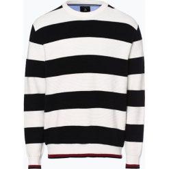 Andrew James Sailing - Sweter męski, beżowy. Brązowe swetry klasyczne męskie Andrew James Sailing, m, w paski, z bawełny. Za 229,95 zł.