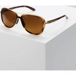 Oakley SPLIT TIME Okulary przeciwsłoneczne brown gradient polarized. Brązowe okulary przeciwsłoneczne damskie aviatory Oakley. Za 809,00 zł.