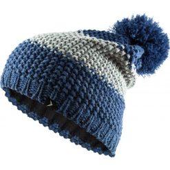 Czapka męska CAM601 - ciemny granat melanż - Outhorn. Szare czapki zimowe męskie Outhorn, z polaru. Za 29,99 zł.
