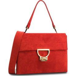 Torebka COCCINELLE - DD6 Arlettis Suede E1 DD6 12 06 01 Coquelicot R09. Czerwone torebki klasyczne damskie marki Coccinelle, ze skóry. Za 1699,90 zł.