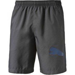 Puma Spodenki Męskie Pt Ess Dry Branded Wvn Short Asphalt-Ato Xs. Czarne spodenki sportowe męskie Puma, m. W wyprzedaży za 89,00 zł.