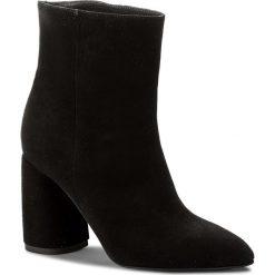 Botki EVA MINGE - Hellin 3F 18GR1372414ES 801. Czarne buty zimowe damskie marki Eva Minge, ze skóry, na obcasie. W wyprzedaży za 359,00 zł.
