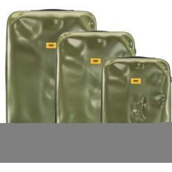 Walizki Icon w zestawie 3 el. matowy oliwkowy. Zielone walizki Crash Baggage, z materiału. Za 2628,00 zł.