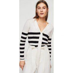 Swetry klasyczne damskie: Mango – Sweter Bowier