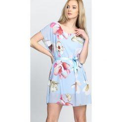 Jasnoniebieska Sukienka Spring Thing. Niebieskie sukienki letnie Born2be, s. Za 64,99 zł.