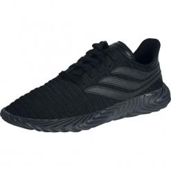 Adidas Sobakov Buty sportowe czarny. Czarne buty skate męskie marki Adidas, z kauczuku. Za 489,90 zł.