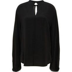 DRYKORN AYLIN Bluzka black. Czarne bluzki asymetryczne DRYKORN, z jedwabiu. Za 789,00 zł.