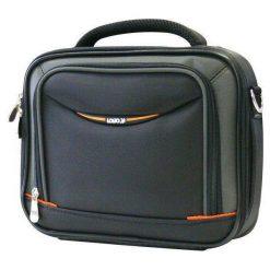 Torby na laptopa: Torba Logo na laptopa 8.9″ Czarno-pomarańczowa (30204)