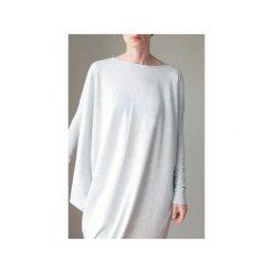 Asymetryczna sukienka długi rękaw szara. Szare długie sukienki One mug a day, z bawełny, z asymetrycznym kołnierzem, z długim rękawem, asymetryczne. Za 219,00 zł.