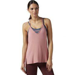 Bluzki damskie: Reebok Koszulka damska Favorite Strappy TA Sanros różowa r. S (BR0415)