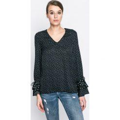 Vero Moda - Bluzka. Szare bluzki asymetryczne Vero Moda, l, z materiału, casualowe. W wyprzedaży za 69,90 zł.