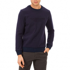 Sweter w kolorze niebieskim. Niebieskie swetry klasyczne męskie GALVANNI, l, z okrągłym kołnierzem. W wyprzedaży za 139,95 zł.