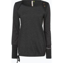 Ragwear - Damska koszulka z długim rękawem – Mike, czarny. Czarne t-shirty damskie marki Ragwear, xs. Za 179,95 zł.