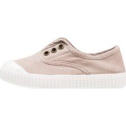 Creepersy damskie: Victoria Shoes INGLESA LONA TINTADA Półbuty wsuwane beige