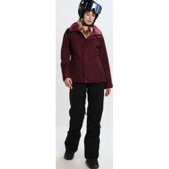 Burton JET SET  Kurtka snowboardowa sangria. Fioletowe kurtki damskie narciarskie Burton, xl, z materiału. W wyprzedaży za 671,20 zł.