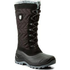 Śniegowce CMP - Nietos Wmn 3Q47966 Nero Mel. U973. Czarne buty zimowe damskie CMP, z materiału. Za 299,99 zł.