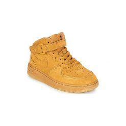 Buty Dziecko Nike  AIR FORCE 1 MID LV8 PRE-SCHOOL. Brązowe trampki chłopięce Nike. Za 289,00 zł.