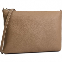 Torebka COCCINELLE - DV3 Mini Bag E5 DV3 55 F4 07 Taupe N75. Brązowe listonoszki damskie Coccinelle, ze skóry. Za 549,90 zł.