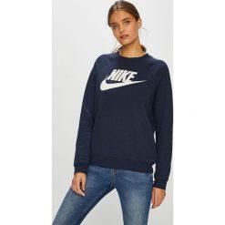 Nike Sportswear - Bluza. Szare bluzy rozpinane damskie Nike Sportswear, s, z nadrukiem, z bawełny, bez kaptura. W wyprzedaży za 199,90 zł.