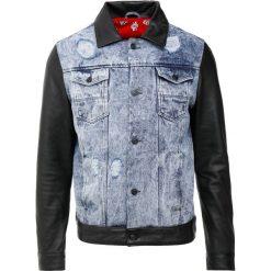 LADC HARVARD Kurtka jeansowa black. Niebieskie kurtki męskie jeansowe marki Reserved, l. W wyprzedaży za 684,50 zł.