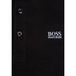 Bluzki dziewczęce bawełniane: BOSS Kidswear MANCHES COURTES Koszulka polo schwarz