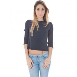 Bluzka w kolorze szarym. Szare bluzki damskie Just Cavalli, Calvin Klein, Lee, z okrągłym kołnierzem. W wyprzedaży za 139,95 zł.