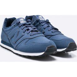New Balance - Buty WL373VNP. Szare buty sportowe damskie New Balance, z materiału. W wyprzedaży za 199,90 zł.
