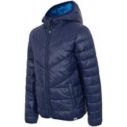 4F Kurtka Chłopięca J4Z17 jkum101 Granat 92. Niebieskie kurtki chłopięce sportowe marki bonprix, z kapturem. W wyprzedaży za 99,00 zł.