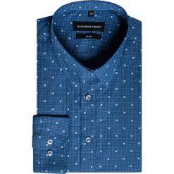 Koszula SIMONE KDWS000242. Białe koszule męskie na spinki marki bonprix, z klasycznym kołnierzykiem. Za 169,00 zł.
